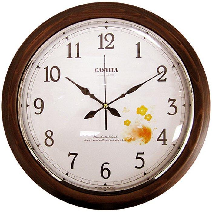 Настенные 3d часы stones s  часы настенные тройка, , париж, d29cm, пластик, коричневый.